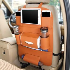 Органайзер на кресло арт ОК1, оранжевый F